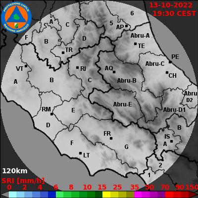 Intensità precipitazione (mm/h)
