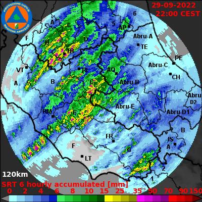radar precipitazioni